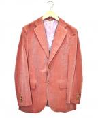 azabu tailor(アザブテーラー)の古着「コーデュロイジャケット」 ピンク