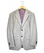 azabu tailor(アザブテーラー)の古着「ウールジャケット」|ライトグレー