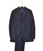 RING JACKET(リングジャケット)の古着「ウールセットアップスーツ」|ネイビー