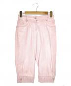 CHANEL(シャネル)の古着「デザインパンツ」|ピンク