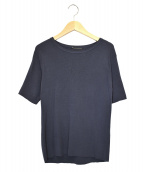 L'Appartement(アパルトモン)の古着「Silk*CTN半袖TOPS」|ブルー