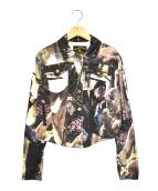 VIVIENNE WESTWOOD ANGLOMANIA(ヴィヴィアンウエストウッドアングロマニア)の古着「パイレーツ転写ジャケット」 マルチカラー