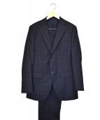 azabu tailor(アザブテーラー)の古着「セットアップスーツ」|ネイビー