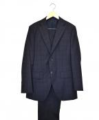 azabu tailor(アザブテーラー)の古着「セットアップスーツ」 ネイビー