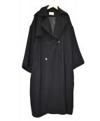 HARE(ハレ)の古着「オーバーサイズトレンチコート」|ブラック