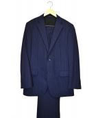 D'URBAN(ダーバン)の古着「2Bストライプスーツ」|ネイビー