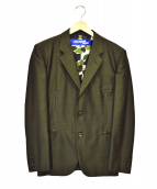 CDG JUNYA WATANABE MAN(コムデギャルソンジュンヤワタナベマン)の古着「裏カモテーラードジャケット」|ブラウン