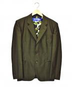 CDG JUNYA WATANABE MAN(コムデギャルソン ジュンヤワタナベマン)の古着「裏カモテーラードジャケット」 ブラウン