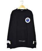 UNDERCOVER(アンダーカバー)の古着「クルーネックスウェット」|ブラック