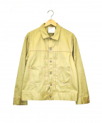 digawel(ディガウェル)の古着「デザインコットンジャケット」|ベージュ
