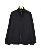 Y's for men(ワイズフォーメン)の古着「ジップアップジャケット」|ブラック