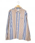 NOMA t.d.(ノーマティーディー)の古着「オーバーサイズシャツ」 ブラウン