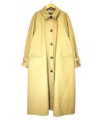 sophila(ソフィラ)の古着「オーバーサイズステンカラーコート」|ベージュ