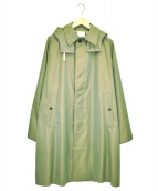 WORKERS(ワーカーズ)の古着「フード付バルカラーコート」|カーキ