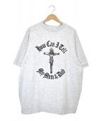 WILLY CHAVARRIA(ウィリーチャバリア)の古着「ラグランTシャツ」|グレー