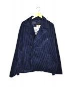 HARE(ハレ)の古着「コーデュロイジャケット」|ネイビー