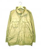 ASPESI(アスペジ)の古着「M43フィールドナイロンジャケット」|ベージュ