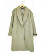 HARE(ハレ)の古着「ショールカラーコート」|グレー