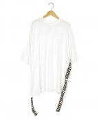 holiday(ホリデイ)の古着「スーパーファインドライS/SビッグTシャツ」|ホワイト