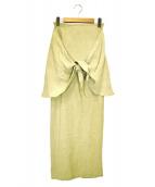 Little suzie(リトルスージー)の古着「巻きスカート」|カーキ