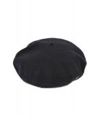 BORSALINO(ボルサリーノ)の古着「ウールフェルトベレー帽」|ブラック