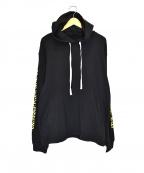 DOUBLE RAINBOUU(ダブルレインボー)の古着「コーチサーフフーディ」|ブラック