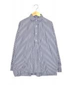 TICCA(ティッカ)の古着「スクエアビックシャツ」|ブルー