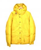 Mt. Rainier Design(マウントレイニアデザイン)の古着「ダウンジャケット」 イエロー