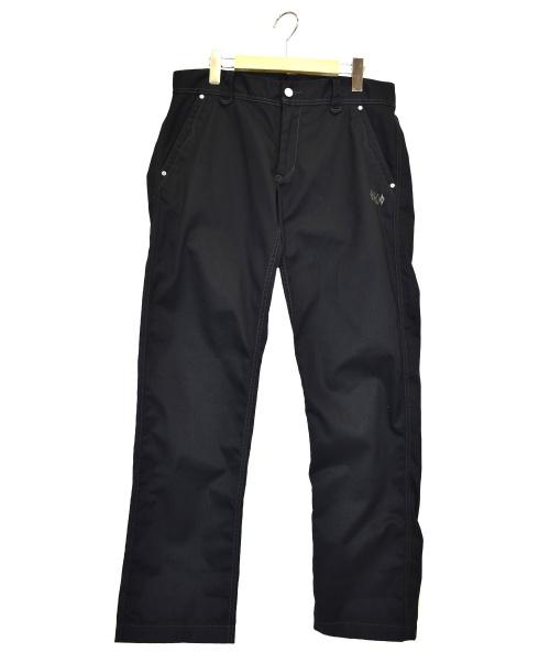 WEST RIDE(ウエストライド)WEST RIDE (ウエストライド) ワークパンツ ブラック サイズ:34の古着・服飾アイテム