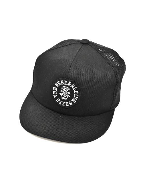 TENDERLOIN(テンダーロイン)TENDERLOIN (テンダーロイン) ボルネオスカルメッシュキャップ ブラック サイズ:下記参照の古着・服飾アイテム
