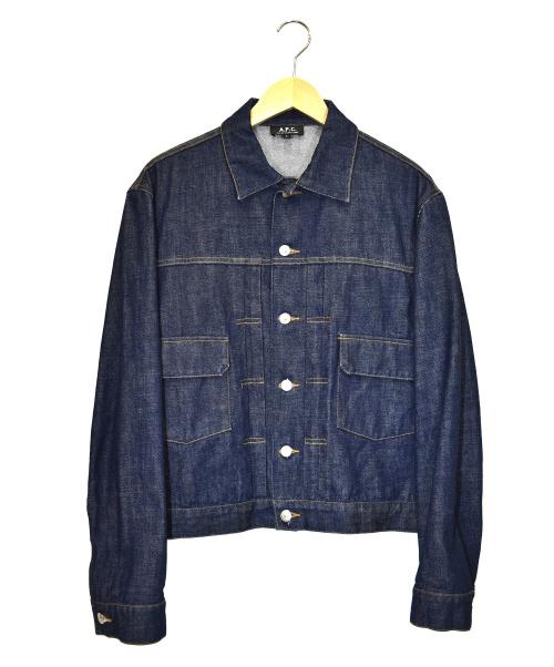 A.P.C.(アーペーセー)A.P.C. (アーペーセー) デニムジャケット インディゴ サイズ:2の古着・服飾アイテム