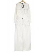 THE BLACK(ザ ブラック)の古着「ジャンプスーツ」|ホワイト