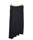 Y's(ワイズ)の古着「ロングスカート」 ブラック