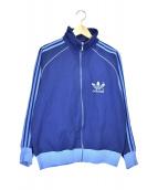 adidas(アディダス)の古着「70'sヴィンテージトラックジャケット」|ブルー