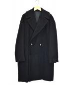 DRESSTERIOR(ドレステリア)の古着「モヘヤシャギーコート」 ネイビー