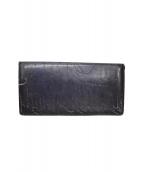 Berluti(ベルルッティ)の古着「長財布」|ネイビー