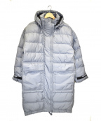 adidas by stella McCartney(アディダスバイステラマッカートニー)の古着「アスレティクスロングパデッドジャケット」|グレー