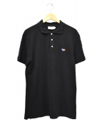 ()の古着「ワンポイントロゴポロシャツ」|ブラック