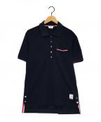 Thom Browne(トムブラウン)の古着「ポロシャツ」|ネイビー