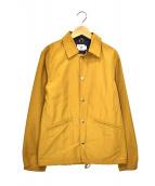 TROPHY CLOTHING(トロフィークロージング)の古着「コーチジャケット」|ベージュ