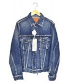FULLCOUNT(フルカウント)の古着「3rdタイプトラッカージャケット」|ブルー