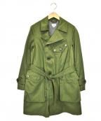 FWk Engineered Garments(エフダブリューケーエンジニアードガーメンツ)の古着「ミリタリーコート」|オリーブ