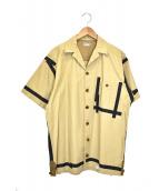 kolor/BEACON(カラービーコン)の古着「ネップウェザー」 ベージュ