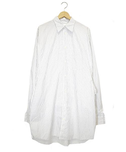 doublet(ダブレット)doublet (ダブレット) スーパーオーバーサイズシャツ ホワイト サイズ:S 19AW21SH68の古着・服飾アイテム