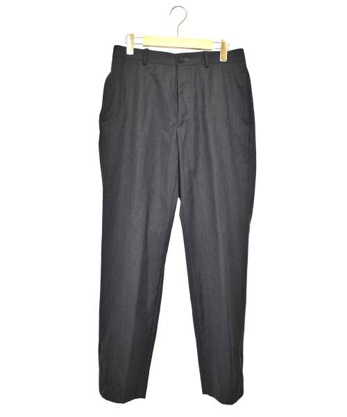 AURALEE(オーラリー)AURALEE (オーラリー) スラックス グレー サイズ:3 WOOL SILK TROPICAL SLACKS A20SP02WTの古着・服飾アイテム