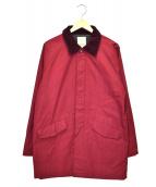 STANDARD CALIFORNIA(スタンダード カリフォルニア)の古着「ナイロンジャケット」|レッド