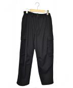 Y-3(ワイスリー)の古着「クラシックリファインドウールカーゴパンツ」|ブラック