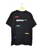 uniform experiment(ユニフォームエクスペリメント)の古着「リペアポケットTEE」|ブラック