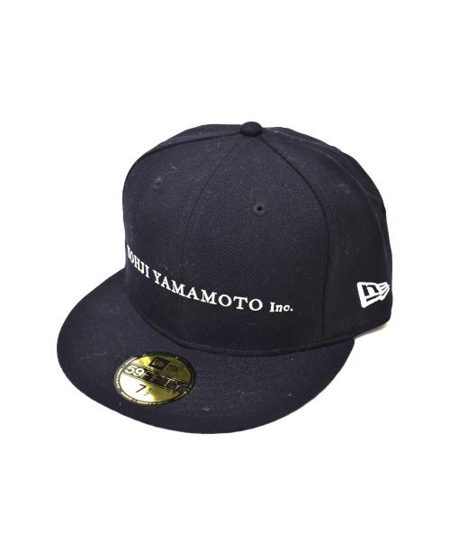YohjiYamamoto pour homme(ヨウジヤマモトプールオム)YohjiYamamoto pour homme (ヨウジヤマモトプールオム) キャップ ブラック サイズ:7 1/2(59.6cm)の古着・服飾アイテム