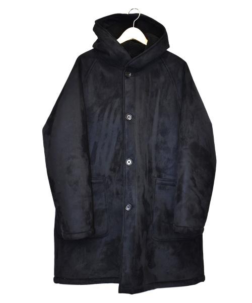TOMORROW LAND(トゥモローランド)TOMORROW LAND (トゥモローランド) フーデッドコート ブラック サイズ:Mの古着・服飾アイテム